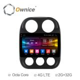 Штатная магнитола Ownice C500+ S1252P для Jeep Compass на Android 6