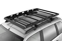 Багажник-корзина двухсекционная универсальная с основанием-решетка (ППК) 1630х1110мм под попереч