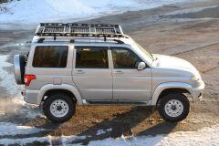 Багажник-корзина ШИРОКАЯ трехсекционная универсальная с основанием решетка   (ППК) 2100х1300мм