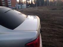 Лип спойлер для Toyota Corolla Axio 2006-2012 E140