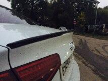 Спойлер на багажник для Audi A4 B8 рестайлинг
