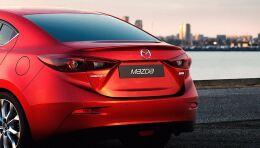 Спойлер на Mazda 3 2014-нв