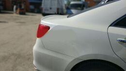 Спойлер лезвие для Toyota Camry v50 / v55