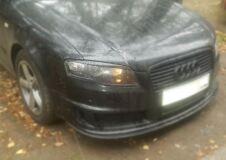 Накладки на передние фары (реснички) компл. Audi A4 2004-2007