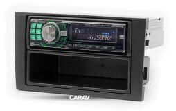 Переходная рамка для установки автомагнитолы CARAV 11-001: 1 DIN / 182 x 53 mm / AUDI A4 (B6) 2000-2006, A4 (B7) 2004-2009 / SEAT Exeo 2009-2013