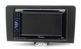 Переходная рамка для установки автомагнитолы CARAV 11-450: 2 DIN / 173 x 98 mm / 178 x 102 mm / AUDI A3 (8P / with Symphony OEM-Radio) 2003-2008; A3 (8P/8PA) 2008-2012