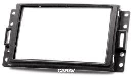 Переходная рамка для установки автомагнитолы CARAV 11-064: 2 DIN / 173 x 98 mm / 178 x 102 mm / CHEVROLET/ HUMMER/ BUICK/ PONTIAC/ SATURN / SAAB