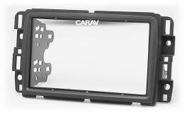Переходная рамка для установки автомагнитолы CARAV 11-442: 2 DIN / 173 x 98 mm / 178 x 102 mm / BUICK Enclave 2013-2017 / CHEVROLET Traverse 2013-2017 / GMS Acadia 2013-2016