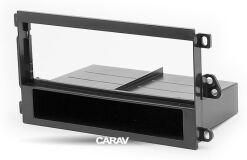 Переходная рамка для установки автомагнитолы CARAV 11-532: 1 DIN / 182 x 53 mm / CHEVROLET, BUICK, CADILLAC, GMC, HONDA, HUMMER, TOYOTA