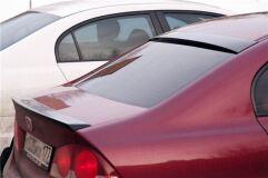 Cпойлер узкий на кромку крышки багажника Honda Civic 4D