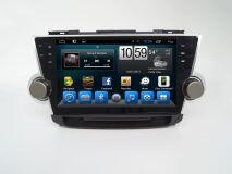 Штатная магнитола Carmedia KR-1027-T8 для Toyota Highlander 2007-2013 U40 на Android