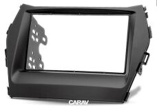 Переходная рамка для установки автомагнитолы CARAV 11-315: 2 DIN / 173 x 98 mm / 178 x 102 mm / HYUNDAI iX-45, Santa Fe 2012+