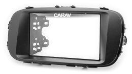 Переходная рамка для установки автомагнитолы CARAV 11-488: 2 DIN / 173 x 98 mm / 178 x 102 mm / KIA Soul 2013+