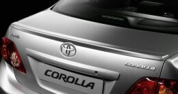 Лип спойлер для автомобиля Toyota Corolla E150 2006-2013