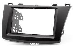 Переходная рамка для установки автомагнитолы CARAV 11-082: 2 DIN / 173 x 98 mm / MAZDA (3), Axela 2009-2013 / 178 x 102 mm
