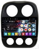 Штатная магнитола DAYSTAR DS-8010HB для Jeep Compas 2010-2016 на Android 8