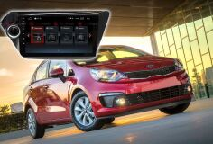 Штатная магнитола Redpower 30106 IPS для Kia Rio на Android