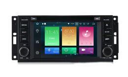 Штатная магнитола Carmedia MKD-J613-P30-8 для Jeep, Dodge, Chrysler на Android