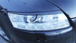 Реснички на фары Audi A6 C6 2004-2008 (4F2, 4F5)