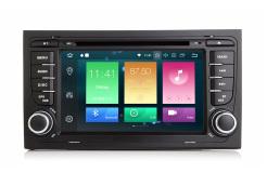 Штатная магнитола Carmedia MKD-A787-P6-8 для Audi A4/RS4/S4 2000-2008 (B6,B7,8E,8H) на Android
