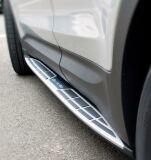 Пороги Hyundai Santa Fe 2012-2016 (Алюминий, пластик)