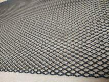Алюминиевая сетка Ромб (100х25см, ячейка 10х5мм) черная (порошковая окраска)