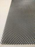 Алюминиевая сетка Ромб (100х25см, ячейка 6х4мм) черная (порошковая окраска)