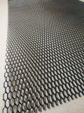 Алюминиевая сетка Соты (100х40см, ячейка 12х6мм) черная (порошковая окраска)