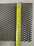 Алюминиевая сетка Ромб (100х15см, ячейка 15х8мм) черная (порошковая окраска)