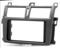 Переходная рамка для установки автомагнитолы CARAV 11-172: 2 DIN / 173 x 98 mm / 178 x 102 mm / SUBARU Trezia 2010-2016 / TOYOTA Verso-S 2010+; Ractis 2010-2016