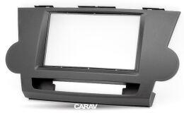 Переходная рамка для установки автомагнитолы CARAV 11-099: 2 DIN / 173 x 98 mm / 178 x 102 mm / TOYOTA Highlander 2008-2013, Kluger 2008-2014