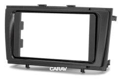 Переходная рамка для установки автомагнитолы CARAV 11-173: 2 DIN / 173 x 98 mm / 178 x 102 mm / TOYOTA Avensis (T270) 2009-2015