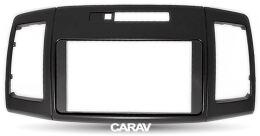 Переходная рамка для установки автомагнитолы CARAV 11-200: 2 DIN / 173 x 98 mm / 178 x 102 mm / TOYOTA Allion (T240/245), Premio 2001-2007