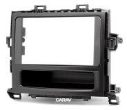 Переходная рамка для установки автомагнитолы CARAV 11-201: 2 DIN / 173 x 98 mm / 178 x 102 mm / TOYOTA Alphard, Vellfire 2008-2015
