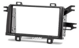 Переходная рамка для установки автомагнитолы CARAV 11-338: 2 DIN / 173 x 98 mm / 178 x 102 mm / TOYOTA Matrix 2008-2011 / PONTIAC Vibe 2008-2009