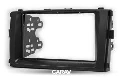 Переходная рамка для установки автомагнитолы CARAV 11-722: 2 DIN / 173 x 98 mm / 178 x 102 mm / BAIC E-series 2013-2014; Senova D20 2014+