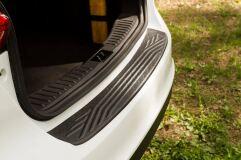 Накладка на задний бампер Ford Focus III 2014- (рестайлинг)