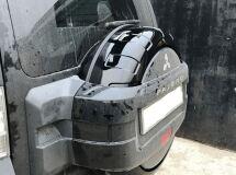 Чехол-бокс для запасного колеса на Mitsubishi Pajero 4