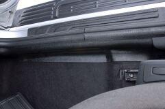 Накладки на ковролин порогов Lada (ВАЗ) Largus 2012-н.в. (универсал), Renault Sandero 2009-2013, Sandero Stepway 2009—2013