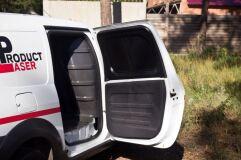 Внутренняя обшивка боковых дверей грузового отсека СО СКОТЧЕМ ЗМ Lada Largus (фургон) 2012 - н.в.