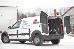 Внутренняя обшивка стоек задних фонарей СО СКОТЧЕМ ЗМ Lada Largus (фургон) 2012 - н.в.
