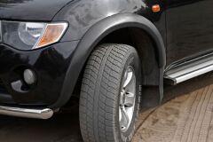 Расширители колесных арок Mitsubishi L200 2007 - 2015 ШАГРЕНЬ