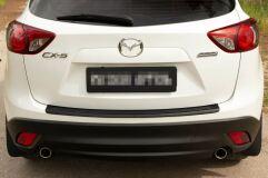 Накладка на задний бампер Mazda CX-5 2011-2015