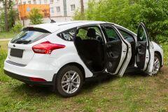 Накладки на внутренние пороги дверей Ford Focus III 2014- (рестайлинг)
