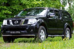 Защитная сетка решетки радиатора Nissan Pathfinder 2004-2010 (R51), Nissan Navara 2005-2010
