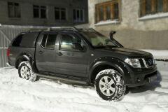 Расширители колесных арок Nissan Navara 2005-2010 ГЛЯНЕЦ (ПОД ПОКРАСКУ)
