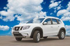 Расширители колесных арок Nissan Terrano 2014-