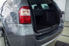Накладка на порожек багажника СО СКОТЧЕМ ЗМ Nissan Terrano 2014-