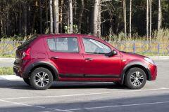 Накладки на колёсные арки Renault Sandero 2009-2013 ШАГРЕНЬ