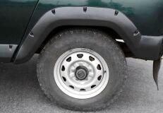 Расширители колесных арок Uaz Hunter, Uaz 469 1972-2011 ШАГРЕНЬ